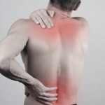Man with neck and back pain