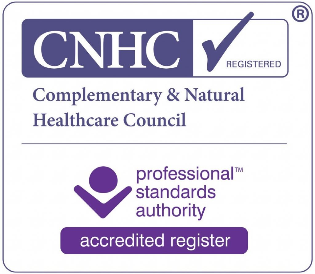 Massage Therapy Malvern CNHC Registered